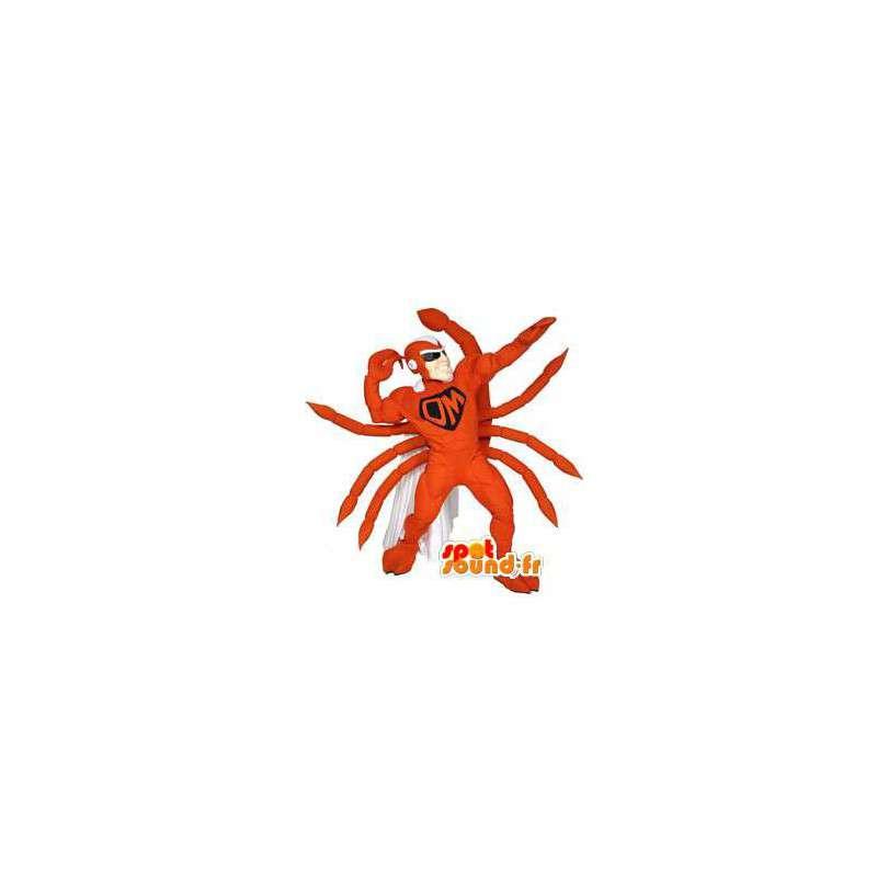 Superhero scorpion maskot - Scorpion-kostym - Spotsound maskot