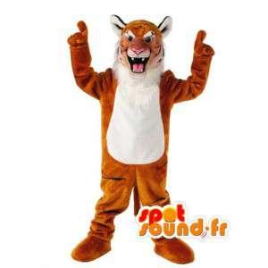 Tiger-Maskottchen Plüsch - Tiger Kostüm - MASFR002945 - Tiger Maskottchen