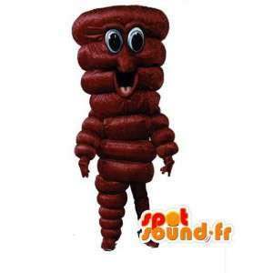 Vormige mascotte reus modder - modder Disguise - MASFR002947 - Niet-ingedeelde Mascottes