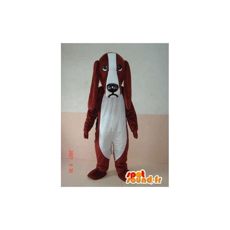 Maskot velké ucho psa kostým - Baset - Cocker - MASFR00236 - psí Maskoti
