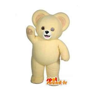 Cajoline karhu maskotti, pesula maskotti - Bear Suit - MASFR002955 - Bear Mascot