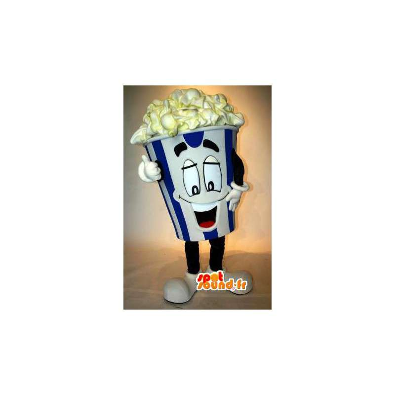 Mascot popcorn - Disguise popcorn movie - MASFR002985 - Fast food mascots