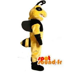 Maskotka żółty i czarny osa - osa kostium - MASFR002986 - maskotki Insect