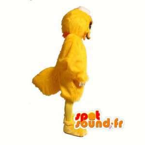 Keltainen Duck Mascot Pehmo - jättiläinen ankka puku - MASFR003002 - maskotti ankkoja