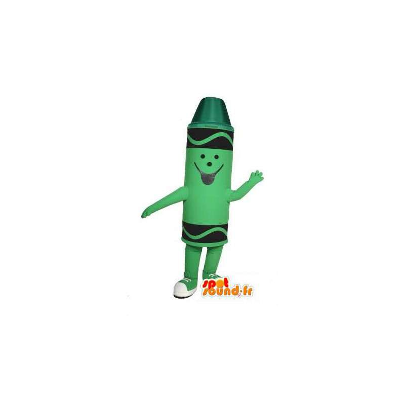 Pastello verde mascotte - Costume matita verde pastello - MASFR003014 - Matita mascotte