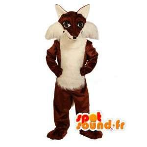 Mascot Plüsch braune Fuchs - Fuchs Kostüm - MASFR003018 - Maskottchen-Fox