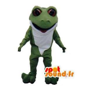Vihreä sammakko Mascot Pehmo - Sammakko Costume - MASFR003019 - sammakko Mascot