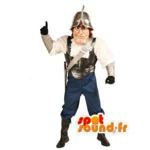 Ιππότης μασκότ - παραδοσιακή φορεσιά ιππότης - MASFR003024 - μασκότ Ιππότες
