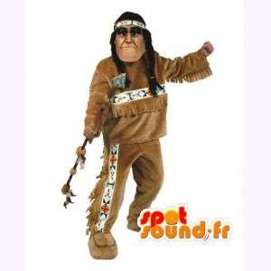 Intian Mascot punokset - perinteinen intialainen puku - MASFR003035 - Mascottes Homme
