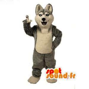 Fjällhundmaskot - Husky hunddräkt - Spotsound maskot