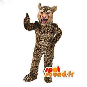 Disguise Panther - Panther Kostüm - MASFR003046 - Tiger Maskottchen