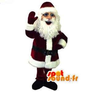 Mascot realistisch Santa - Weihnachtsmann-Kostüm - MASFR003061 - Weihnachten-Maskottchen