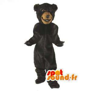 Brown Bear Mascot Plush - Brown Bear Costume - MASFR003063 - Bear mascot
