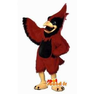Maskotka ptak gigantyczny czerwony - czerwony kostium papugi - MASFR003070 - ptaki Mascot