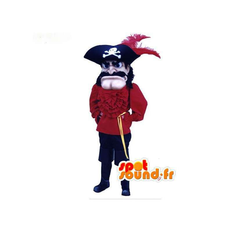 Pirate Captain Mascot - Pirate Costume - MASFR003073 - mascottes Pirates