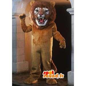 Giant mascot lion - lion costume realistic - MASFR003089 - Lion mascots