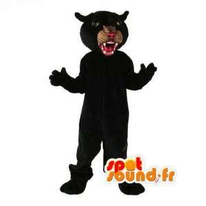 Black Panther-Maskottchen - Kostüm Black Panther - MASFR003114 - Tiger Maskottchen