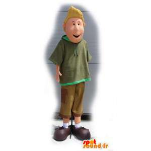 Mascot blond - Costume schoolboy - MASFR003125 - Mascots boys and girls