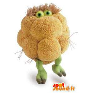 Blomkålformet maskot - Vegetabilsk kostume - Spotsound maskot