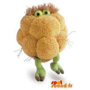 Mascot ve tvaru květák - rostlinný kroj - MASFR003132 - zelenina Maskot