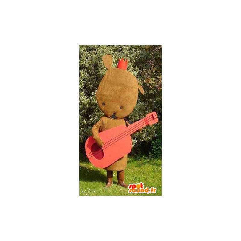 Shaped Maskottchen Plüsch braun - braun Plüsch-Kostüm - MASFR003134 - Maskottchen nicht klassifizierte