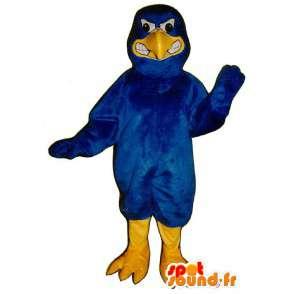 Blue bird mascot, the air evil - Costume Bluebird - MASFR003141 - Mascot of birds
