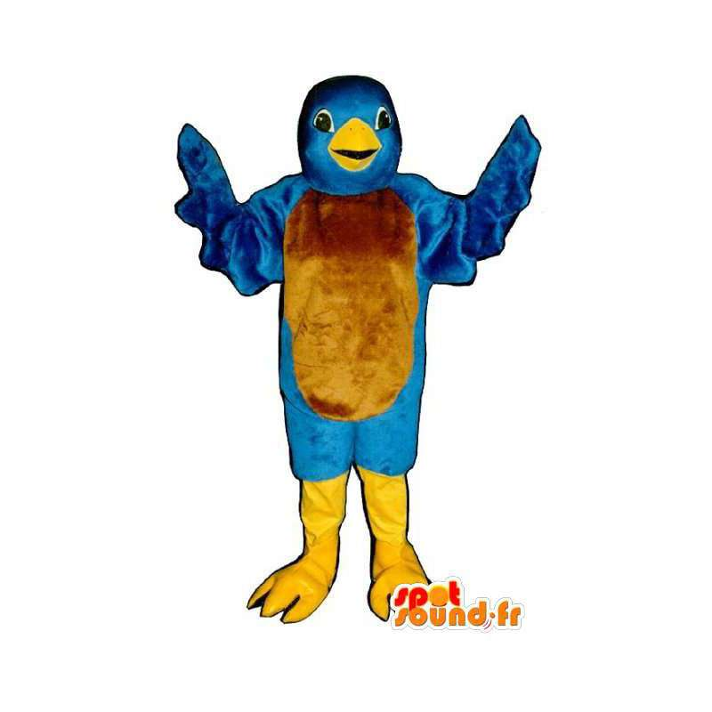 Twitter blue bird mascot - Costume of the bird Twitter - MASFR003146 - Mascot of birds