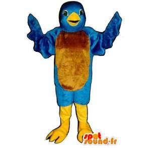 Blue Bird Mascot Twitter - Twitter vogelkostuum - MASFR003146 - Mascot vogels