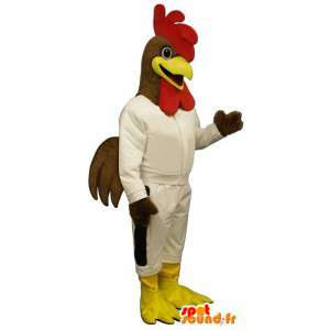 Mascotte Coq Sportif - kogut Disguise