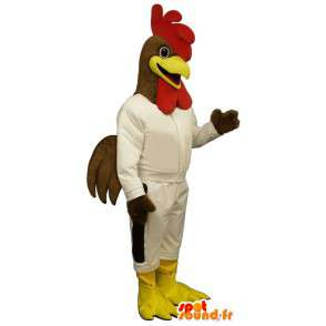 Mascot Coq Sportif - Disguise cock - MASFR003148 - Mascot of hens - chickens - roaster
