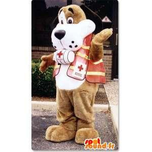 Mascotte Saint Bernard - góry Dog Costume - MASFR003164 - dog Maskotki