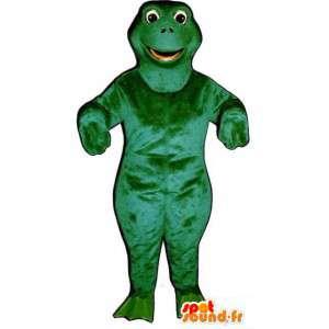 Grüner Dinosaurier-Maskottchen kundengerecht - Dinosaurier-Kostüm - MASFR003174 - Maskottchen-Dinosaurier