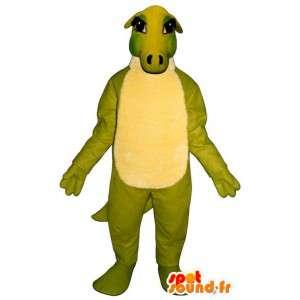 Mascot Band / grün dinosaurette - Dragon Kostüm - MASFR003175 - Dragon-Maskottchen
