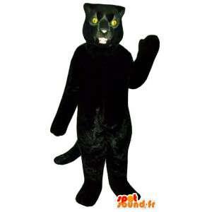 Black Panther-Maskottchen - Kostüm Black Panther - MASFR003194 - Tiger Maskottchen