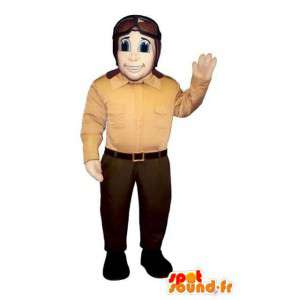 Mascot Aviator - Costume pilota di aereo - MASFR003206 - Umani mascotte