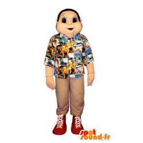 Mascot vacanze - Gingerbread Man Costume Camicia - MASFR003214 - Umani mascotte