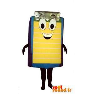 Mascote em forma de queijo amarelo gigante - Traje queijo - MASFR003222 - mascote alimentos