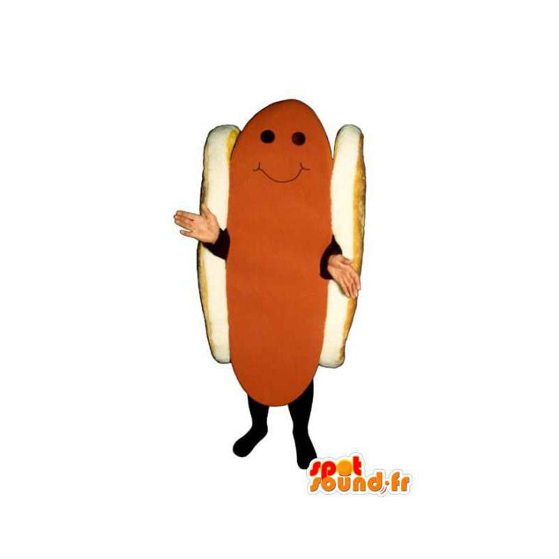 Mascot giant hot dog - hot dog costume - MASFR003227 - Fast food mascots