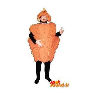 Mascot Orange Weinblätter - verlässt Kostüm - MASFR003228 - Maskottchen der Pflanzen
