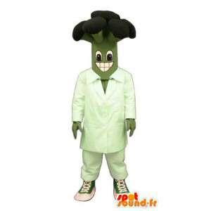 Mascote em forma gigante brócolis - Traje brócolis