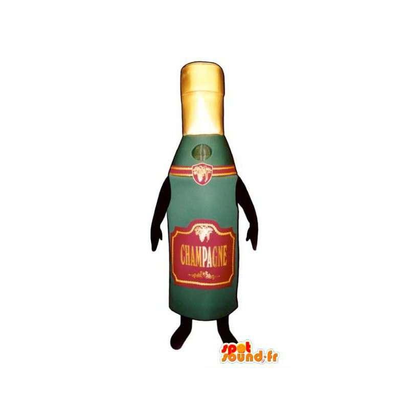 mascotte de bouteille de champagne costume de champagne dans mascottes bouteilles. Black Bedroom Furniture Sets. Home Design Ideas
