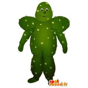 Vormige mascotte reuze groene cactus - cactussen Costume - MASFR003241 - Niet-ingedeelde Mascottes