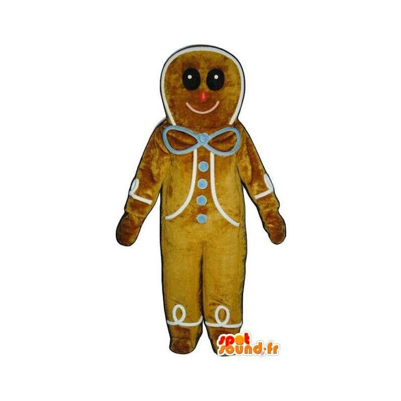 Fang Mode bestbewertet Keks-Maskottchen Brot Riesen Gewürzen - Kostüm Lebkuchen