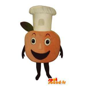 Jätte persikamaskot - Jätte persikadräkt - Spotsound maskot