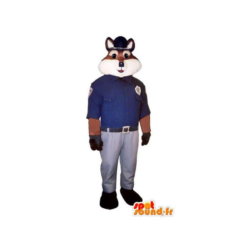 erwerben sie fox maskottchen polizist kost m fuchs. Black Bedroom Furniture Sets. Home Design Ideas