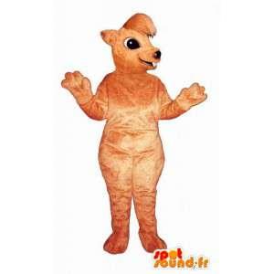Oranssi Orava maskotti - Orava Suit - MASFR003266 - maskotteja orava