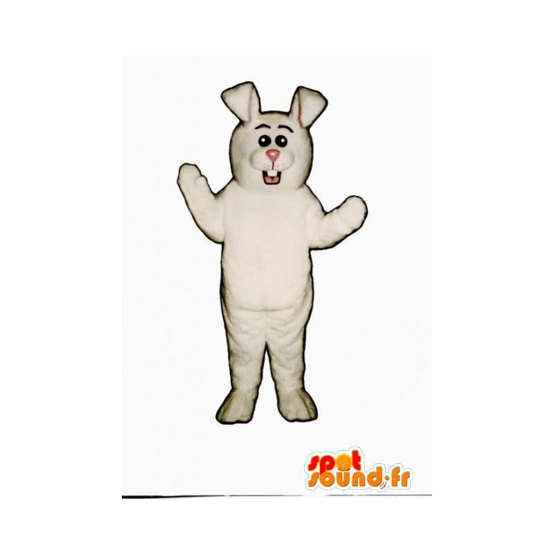 White rabbit mascot - a giant white rabbit costume - MASFR003275 - Rabbit mascot