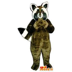 Mascot procione - Costume Raccoon - MASFR003285 - Mascotte di cuccioli