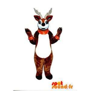 Mascot Santa's reindeer - Reindeer Costume Brown