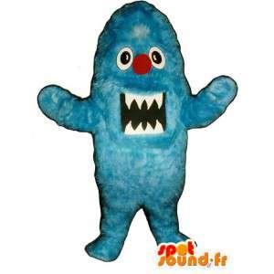 Blue Monster Mascot Plush - Blue Monster Costume - MASFR003289 - Monsters mascots